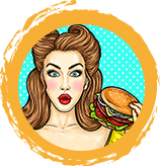 Featured author image: 10 Facts About Burger